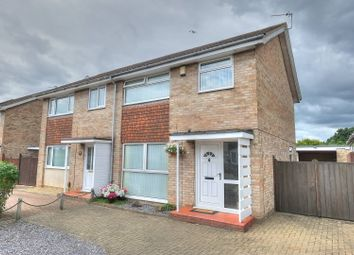 Thumbnail 3 bedroom semi-detached house for sale in Cottinghams Drive, Hellesdon, Norwich