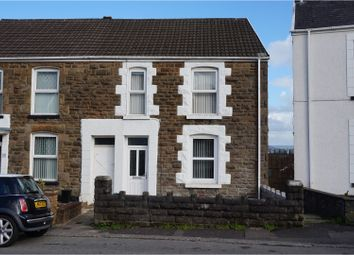 Thumbnail 3 bed semi-detached house for sale in Vicarage Road, Morriston