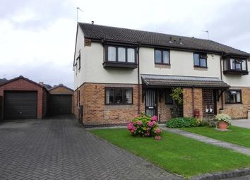 Thumbnail 3 bed semi-detached house for sale in Gibson Close, Wigston, Leicester, Leicestershire