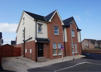 3 bed semi-detached house for sale in Lindara Crescent, Larne BT40