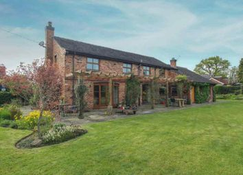 Thumbnail 6 bed detached house for sale in Wallhill Lane, Brownlow, Congleton