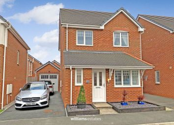 Thumbnail 3 bed detached house for sale in Garden Village, Saltney, Chester