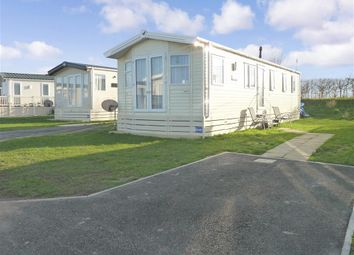 Thumbnail 3 bed mobile/park home for sale in Shottendane Road, Birchington, Kent
