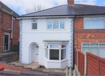 Thumbnail 3 bedroom semi-detached house for sale in Severne Road, Birmingham