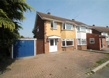 Thumbnail 3 bed semi-detached house to rent in Benenden Road, Wainscott, Rochester, Kent