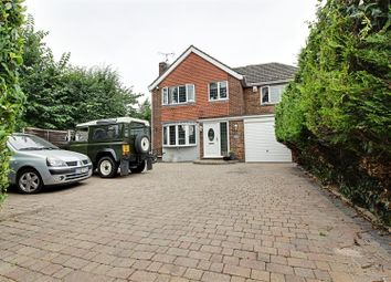 Thumbnail 4 bed detached house for sale in Brinley Close, Cheshunt, Waltham Cross