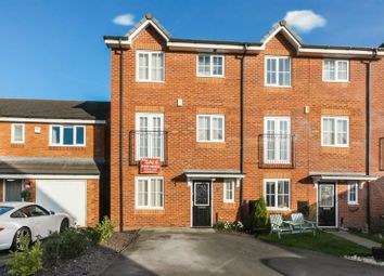 Thumbnail 3 bed town house for sale in 14 Rushton Close, Burtonwood, Warrington