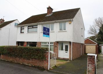 Thumbnail 3 bed semi-detached house to rent in Ballyregan Crescent, Dundonald, Belfast