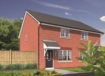 Thumbnail 2 bedroom semi-detached house for sale in The Paddocks, Sandy Lane, Higher Bartle, Preston