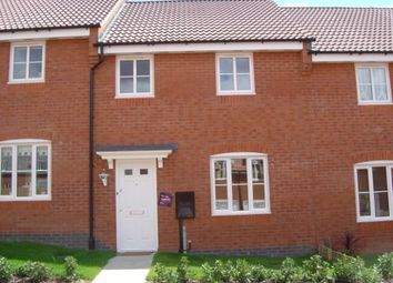 Thumbnail 3 bed terraced house to rent in Willmott Road, Rushden
