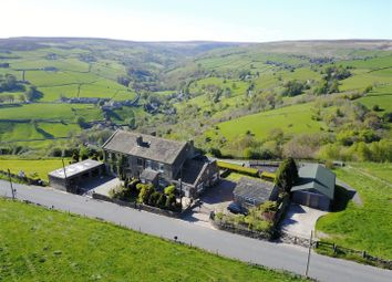 Thumbnail 4 bed property for sale in Breck Top Cottage, Stocks Lane, Luddenden Valley