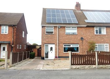 Thumbnail 3 bedroom semi-detached house for sale in Cavendish Road, Worksop