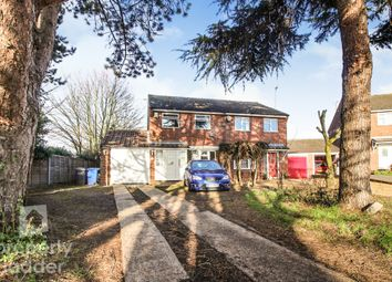 Thumbnail 3 bed semi-detached house for sale in St. Edmunds Close, Hellesdon, Norwich