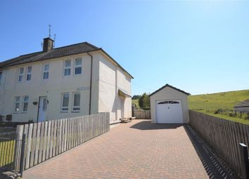 Thumbnail 2 bed flat for sale in Mauchline Road, Catrine, Mauchline