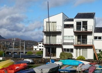 Thumbnail 1 bedroom flat for sale in South Snowdon Wharf, Porthmadog