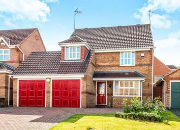 Thumbnail 4 bed detached house for sale in Robin Close, Uttoxeter