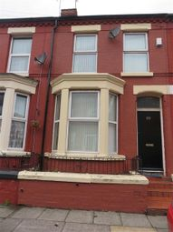 Thumbnail 2 bedroom terraced house to rent in Thornycroft Road, Wavertree, Liverpool