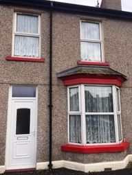 Thumbnail 3 bed terraced house to rent in Crescent Road, Rhyl