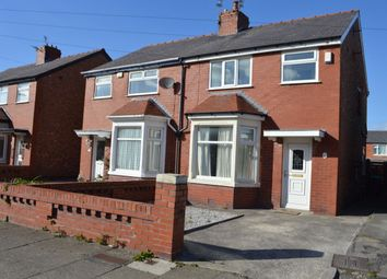Thumbnail 3 bedroom semi-detached house to rent in Sawley Avenue, Blackpool