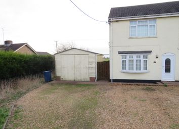 Thumbnail 2 bed end terrace house for sale in March Road, Turves, Peterborough