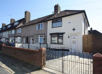 Thumbnail 3 bed end terrace house for sale in Wimborne Road, Liverpool