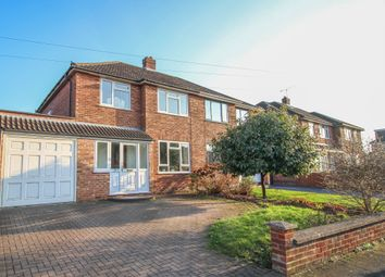 Thumbnail 3 bed semi-detached house for sale in Beaufort Avenue, Cubbington, Leamington Spa