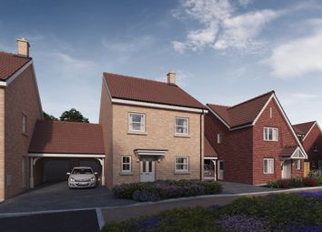 Thumbnail 3 bed detached house for sale in Plot 10, 'the Chancellors', Bedford Road, Moggerhanger