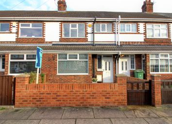 Thumbnail 3 bed terraced house for sale in Wentworth Road, Grimsby