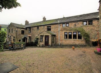 Storth Meadow Farm, Simmondley, Glossop SK13. 4 bed farmhouse for sale