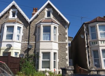 Thumbnail 2 bedroom maisonette for sale in Moorland Road, Weston Super Mare