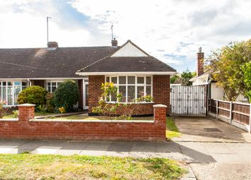 Thumbnail 2 bedroom semi-detached bungalow for sale in Meadow Drive, Southend-On-Sea