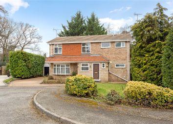Thumbnail 4 bed detached house for sale in Bladen Close, Weybridge, Surrey
