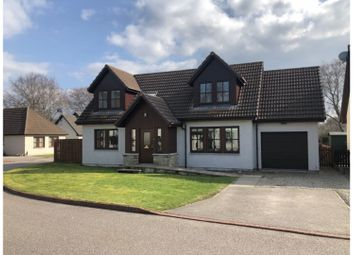 Thumbnail 4 bed detached house for sale in Davis Drive, Alness