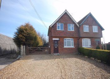Thumbnail 2 bed semi-detached house to rent in Mill Road, St. Germans, King's Lynn