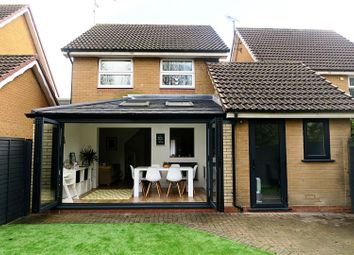 Thumbnail 3 bedroom link-detached house for sale in Orthwaite, Huntingdon