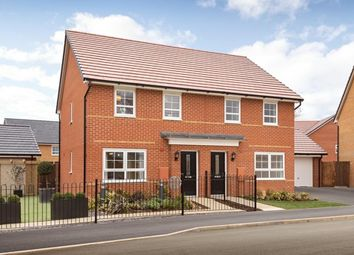 "Thumbnail 3 bed end terrace house for sale in ""Folkestone"" at Ponds Court Business, Genesis Way, Consett"