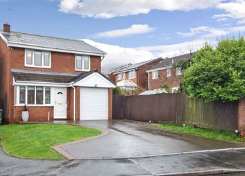 Thumbnail 3 bed detached house for sale in Sapphire Drive, Heath Hayes, Cannock