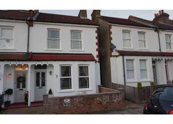 Thumbnail 3 bed end terrace house for sale in Clarence Avenue, Bromley