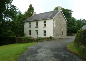 Thumbnail 4 bed country house for sale in Bancyfelin, Carmarthen
