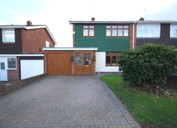 Thumbnail 3 bed semi-detached house for sale in Cornell Way, Collier Row