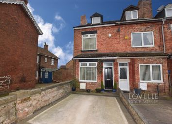 Thumbnail 4 bed end terrace house for sale in Lea Road, Gainsborough, Lincolnshire