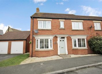 Thumbnail 4 bedroom end terrace house for sale in Stardust Crescent, Oakhurst, Swindon