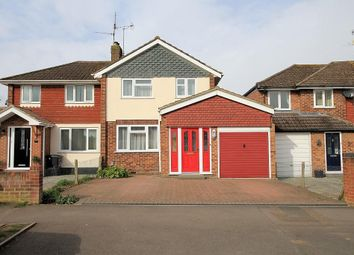 Thumbnail 3 bed semi-detached house to rent in Cotswold Way, Tilehurst, Reading