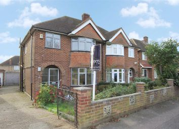 Thumbnail 3 bed semi-detached house for sale in Harvil Road, Harefield