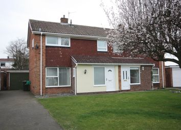 Thumbnail 3 bed semi-detached house for sale in Rosedale Crescent, Guisborough