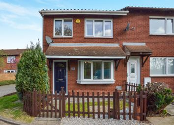 Thumbnail 3 bed end terrace house for sale in Challacombe, Furzton, Milton Keynes