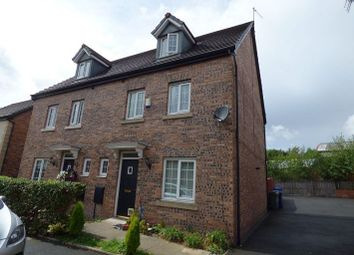 Thumbnail 4 bed semi-detached house for sale in 5 Kestrel Close, Hyde