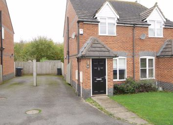 Thumbnail 2 bed semi-detached house to rent in Station Road, Bagworth, Leicestershire