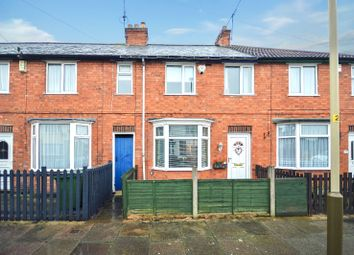 Thumbnail 3 bed town house for sale in Belmont Street, Aylestone, Leicester