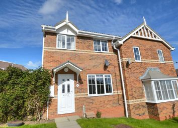 Thumbnail 3 bed semi-detached house for sale in Fairfields, Alnwick, Northumberland